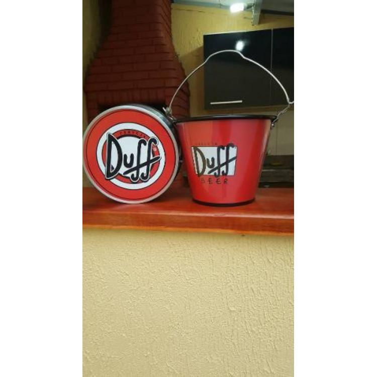 Luminoso Cerveja Duff+ Balde