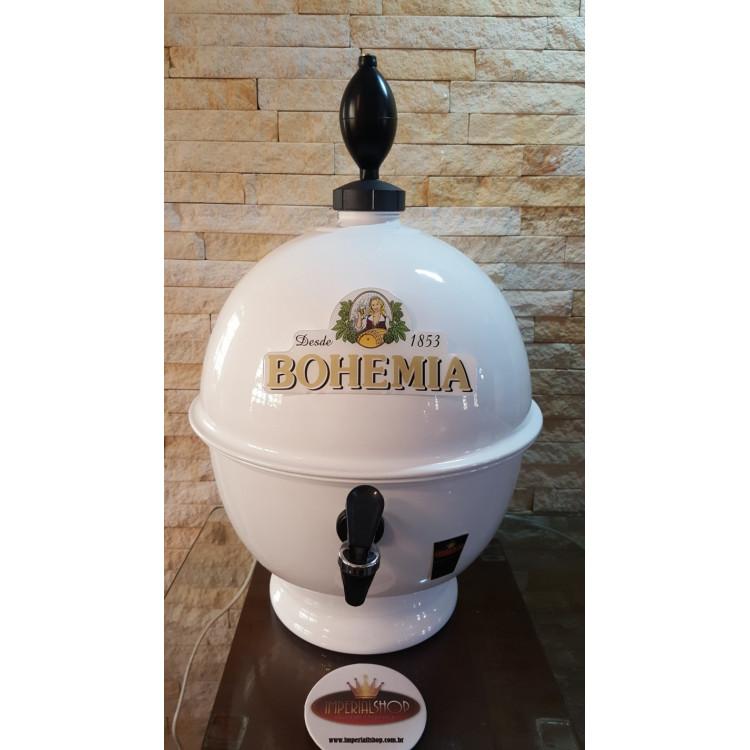 Chopeira Portátil 6,6 litros Bohemia Branco  FRETE GRÁTIS