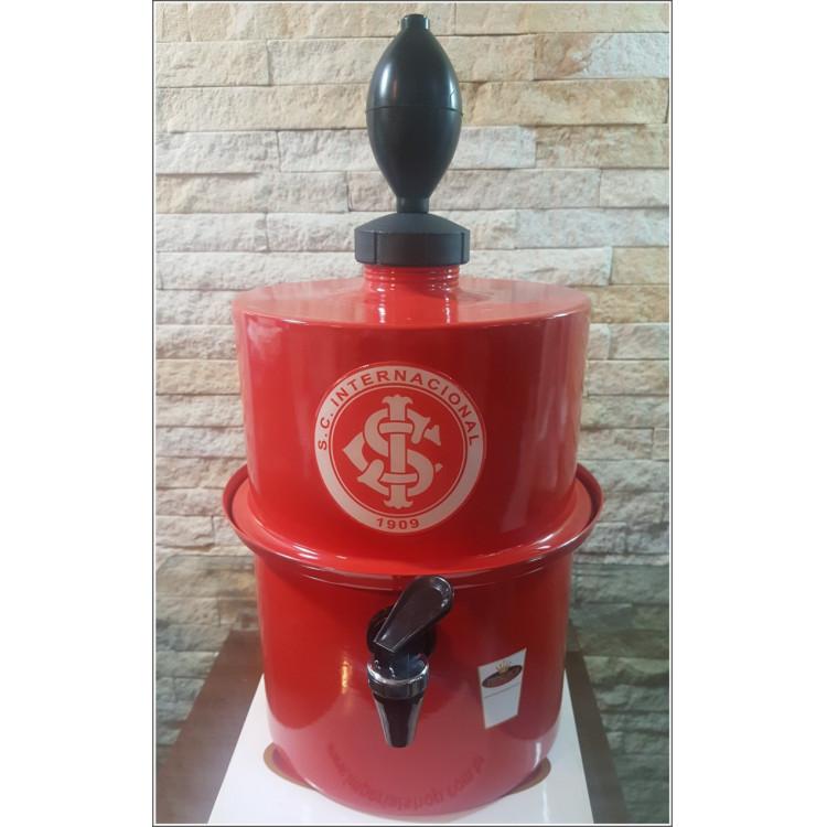 Chopeira Portátil 3,5 litros Internacional Vermelho FRETE GRÁTIS
