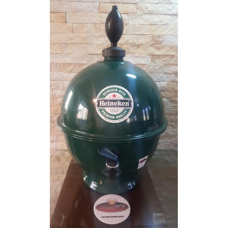 Chopeira Portátil 6,6 litros Heineken Chopp FRETE GRÁTIS