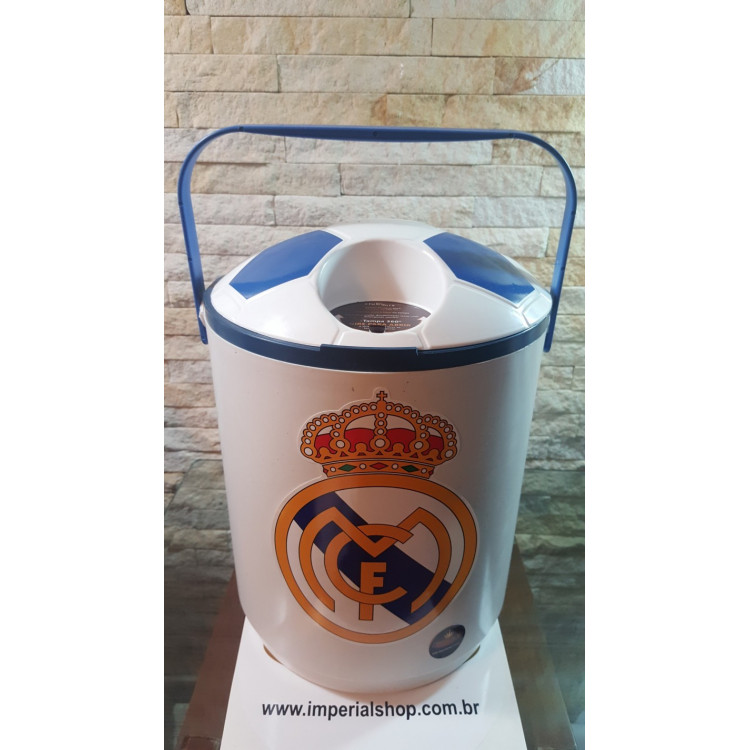 Cooler 12 latas Real Madri