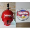 Chopeira Portátil 6,6 litros Brahma + Luminoso 25 cm FRETE GRÁTIS