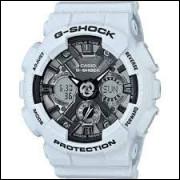 Relógio Casio G Shock  GA700 Pulseira Branca