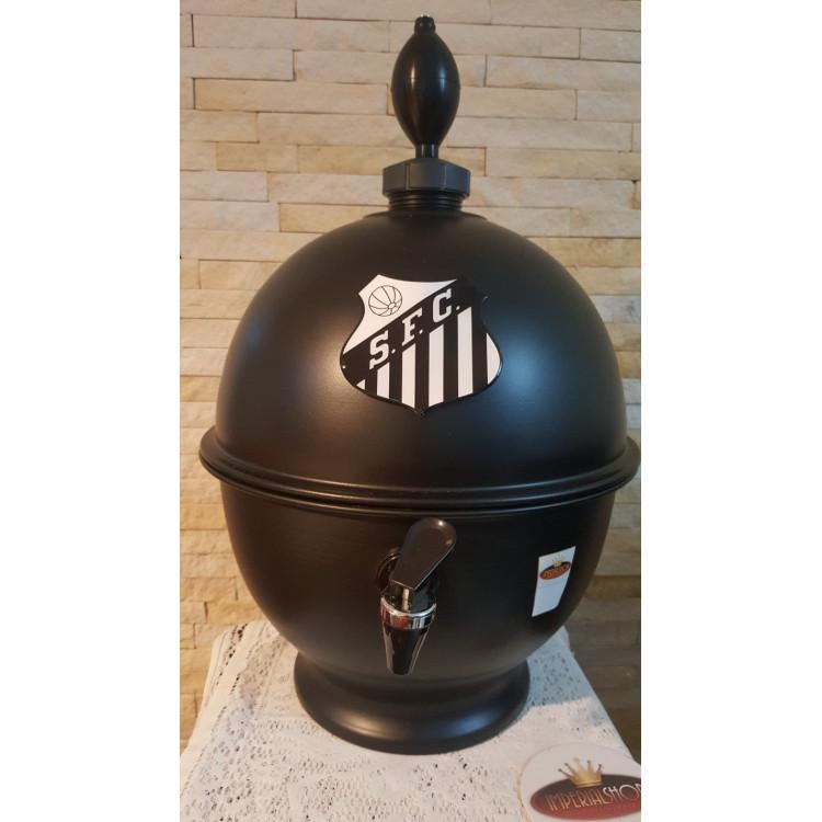 Chopeira Portátil 6,6 litros Santos Preto