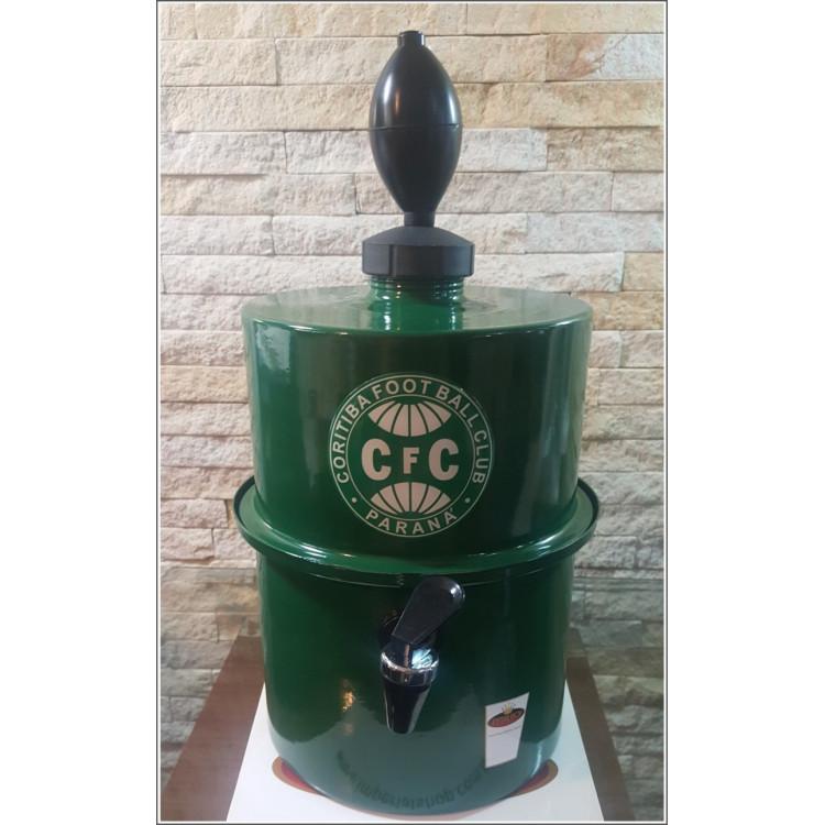 Chopeira Portátil 3,5 litros Coritiba verde FRETE GRÁTIS
