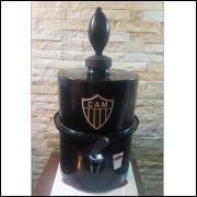 Chopeira Portátil 3,5 litros Atlético Mineiro Preto