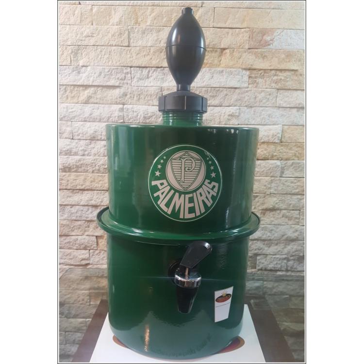 Chopeira Portátil 3,5 litros Palmeiras Verde