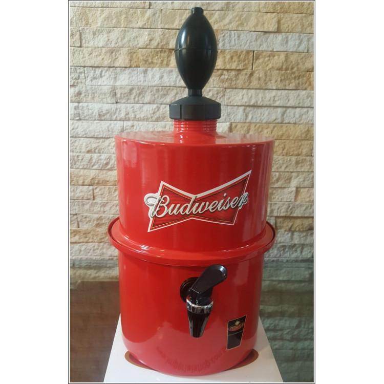 Chopeira Portátil 3,5 litros Budweiser Vermelho