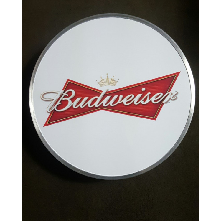 Luminoso Budweiser Branco