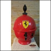 Chopeira Portátil 6,6 litros Ferrari vermelho FRETE GRÁTIS