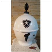 Chopeira Portátil 6,6 litros Botafogo Branco FRETE GRÁTIS