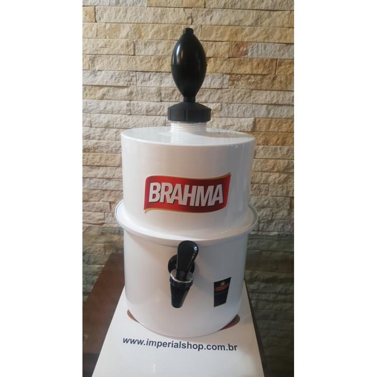 Chopeira Portátil 3,5 litros Brahma Branco FRETE GRÁTIS