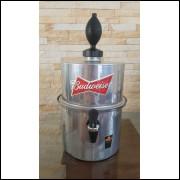 Chopeira Portátil 3,5 litros Budweiser Prata