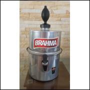 Chopeira Portátil 3,5 litros Brahma Prata