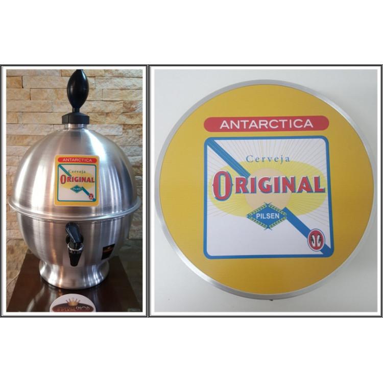 Chopeira Portátil 6,6 litros Original+ Luminoso 25 cm