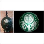 Chopeira Portátil 6,6 litros Palmeiras+ Luminoso 25 cm FRETE GRÁTIS